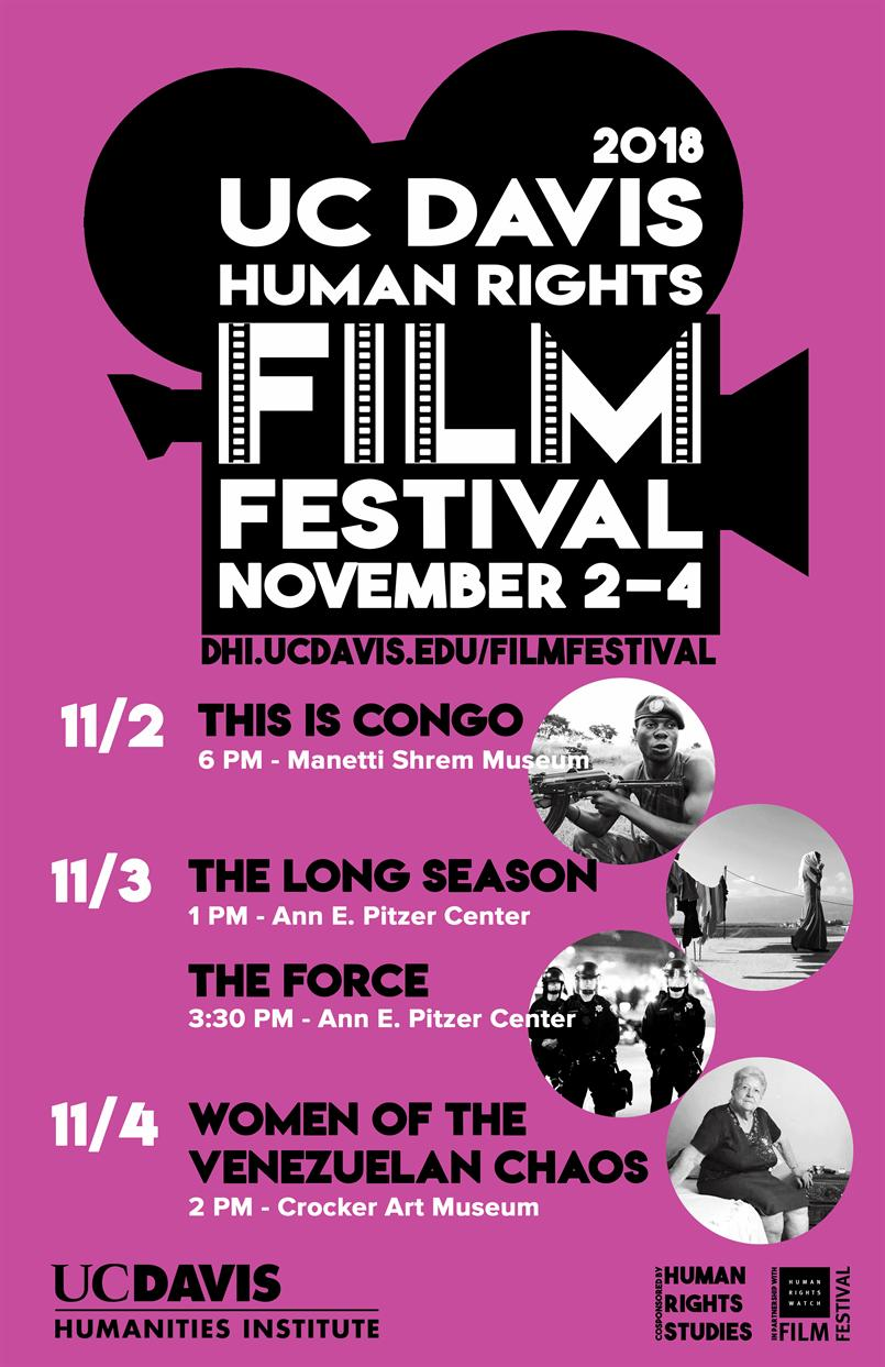 "UC Davis Human Rights Film Festival-""This is Congo"""