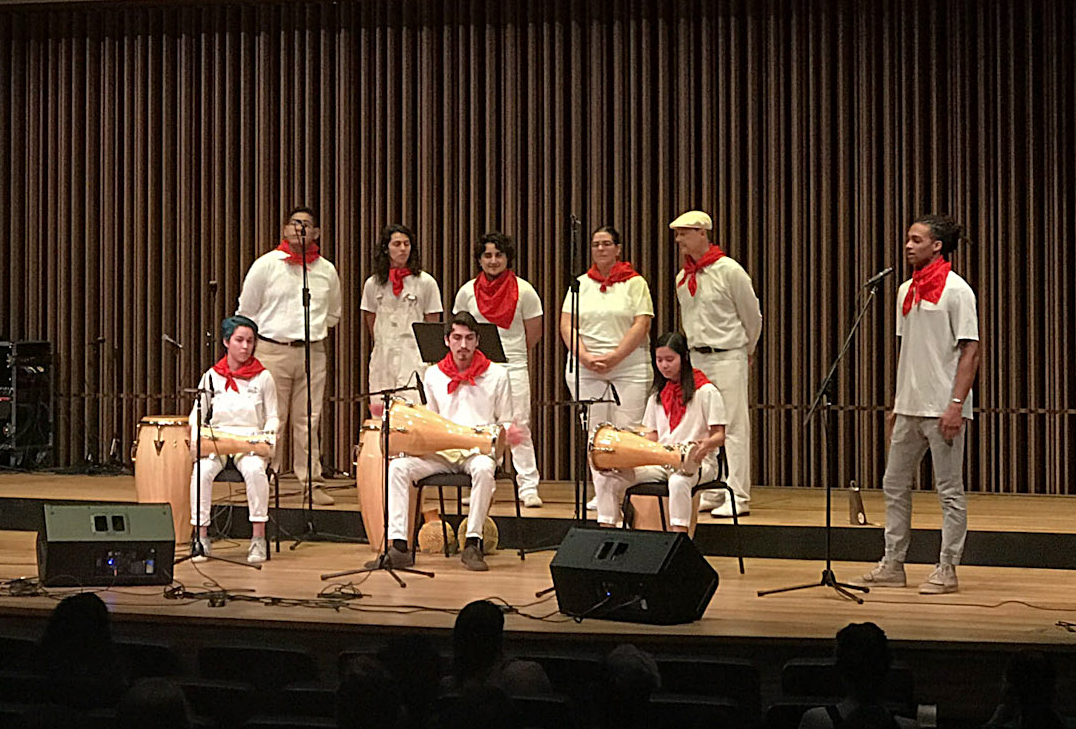 Afro-Cuban, Taiko, and Samba Ensembles of UC Davis