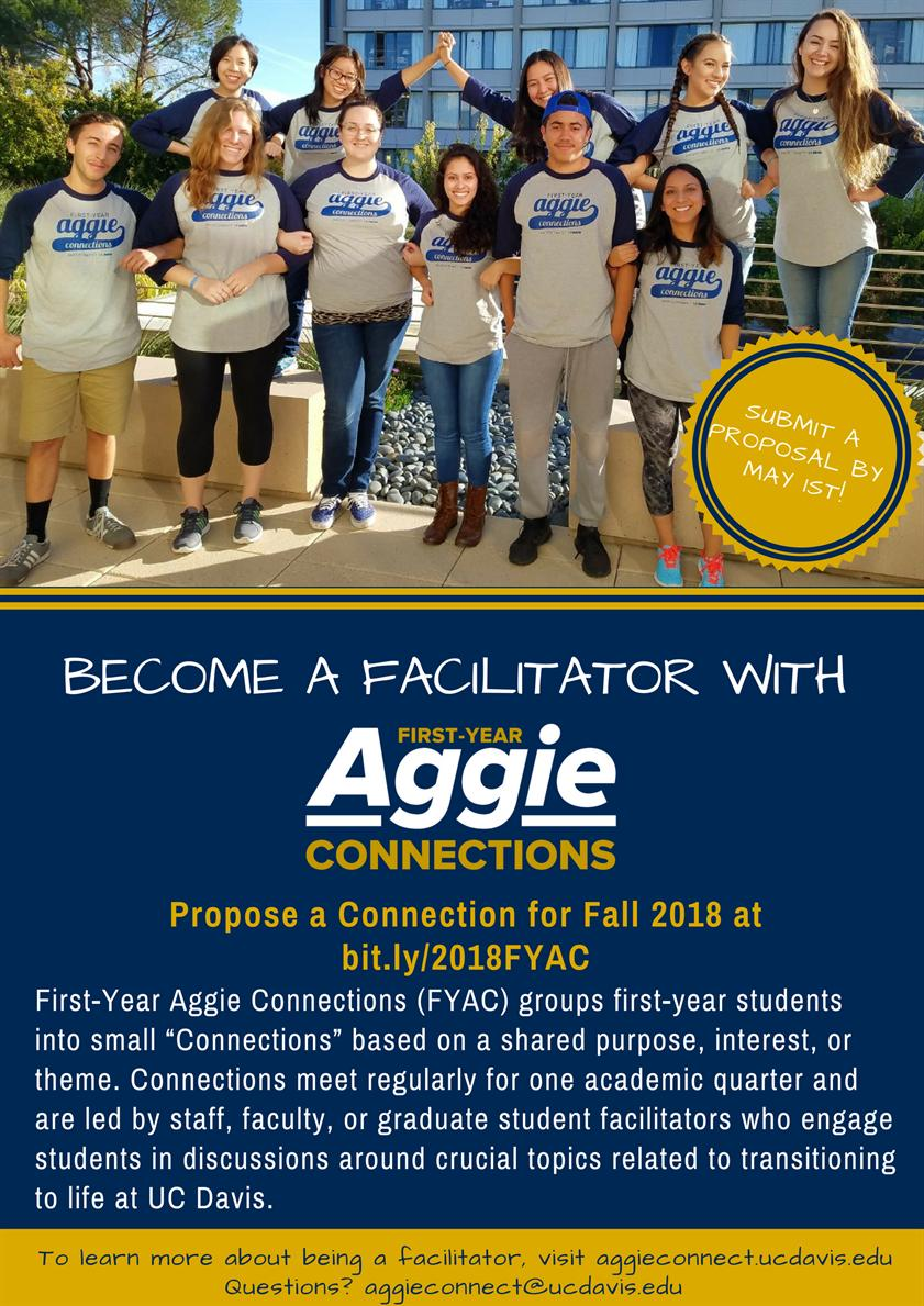 First-Year Aggie Connections Facilitator Theme Proposal Workshop