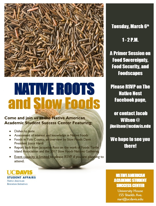 Native Roots and Slow Foods