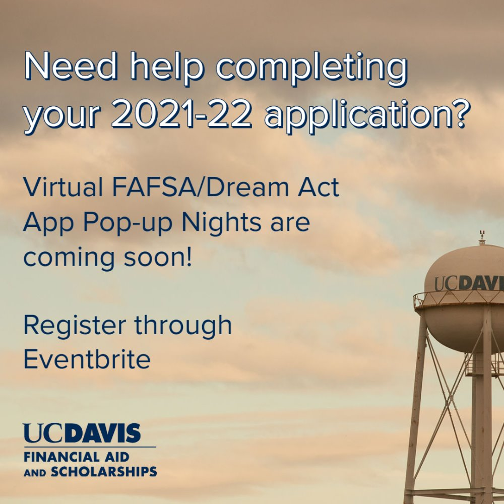FAFSA/Dream Act App Pop-Up Night
