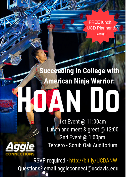 Succeeding in College with American Ninja Warrior