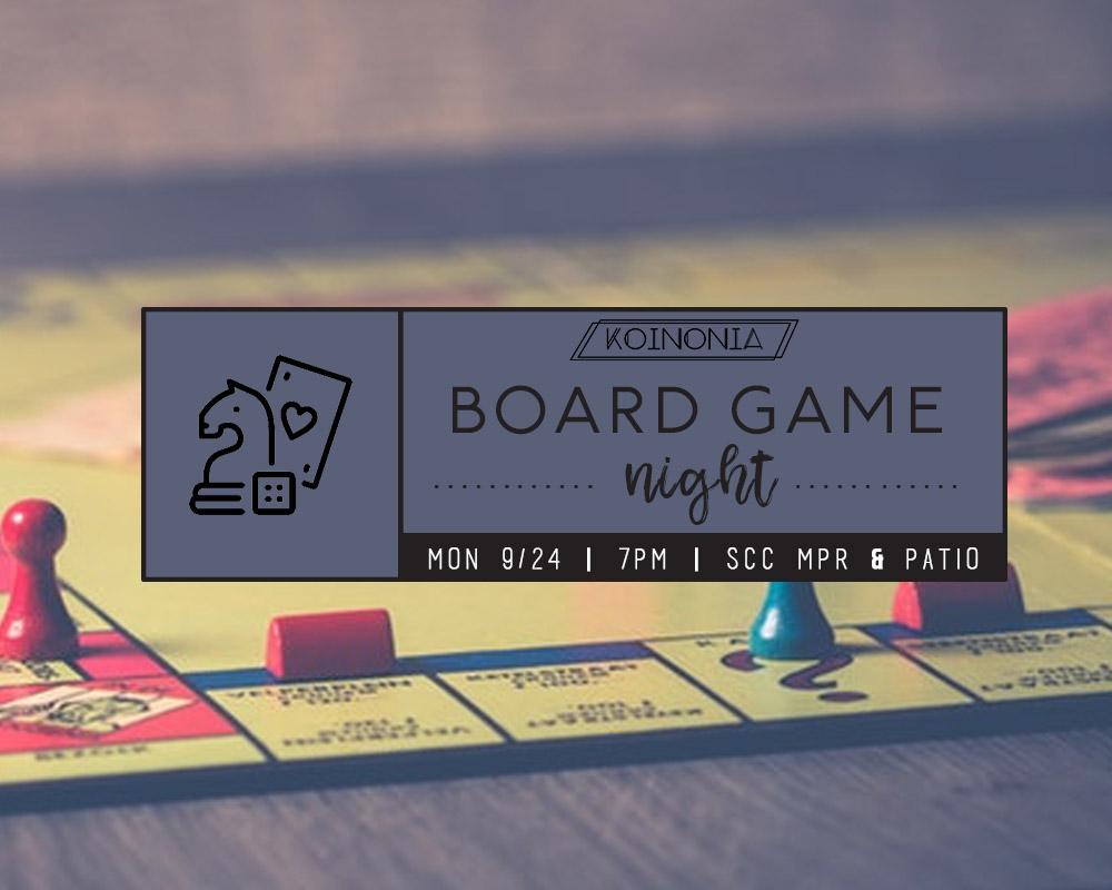 Board Games & Spam Musubi