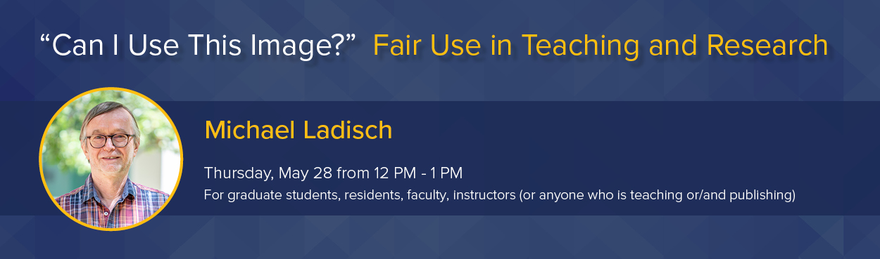 "Webinar: ""Can I Use This Image?"" - Fair Use in Teaching and Research"