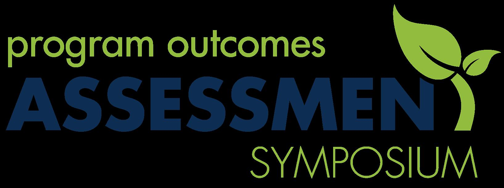 2018 Program Outcomes Assessment Symposium