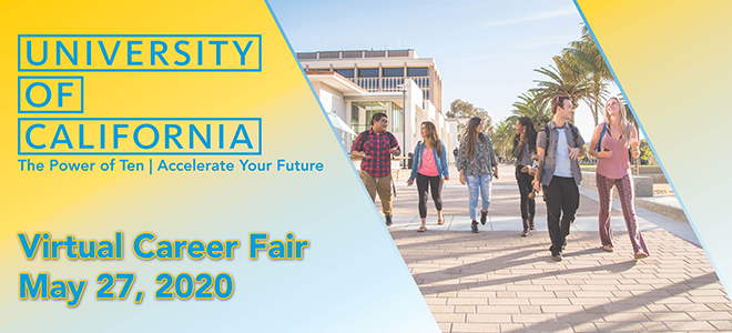 UC-Wide general Virtual Career Fair