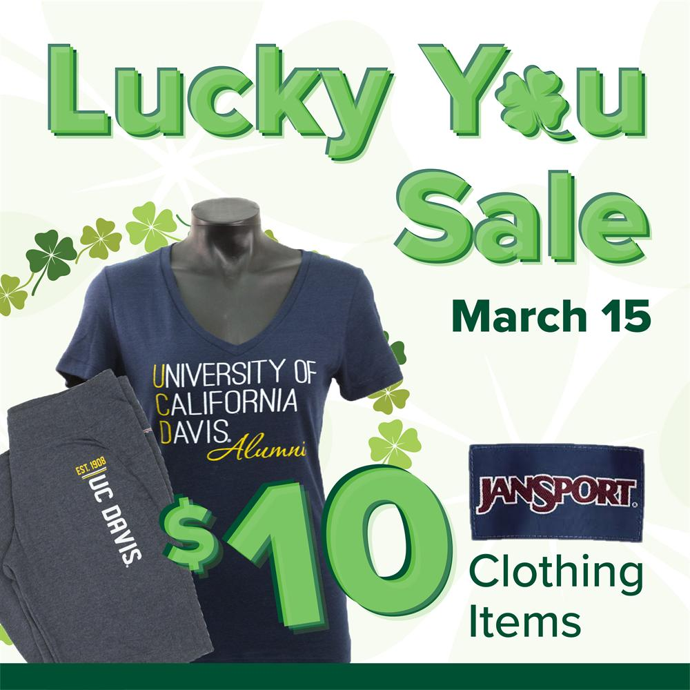 Lucky You Sale