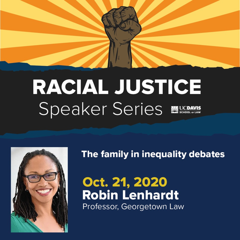 Bodenheimer Lecture as part of Racial Justice Speaker Series
