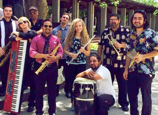 Corin Courtyard Concert: Carlos McCoy's High Octane Latin Jazz Band