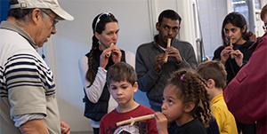 Native Californian Elderberry Flute-making Workshop