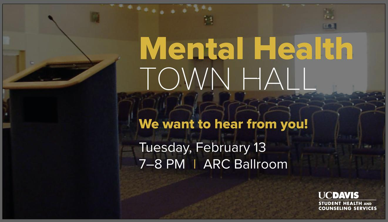 Student Mental Health Town Hall