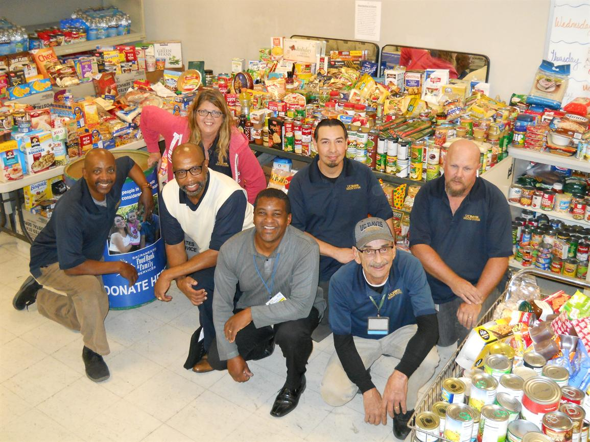 Mail Services Food Drive