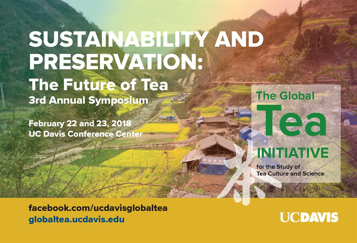 """Symposium: """"Sustainability and Preservation: The Future of Tea"""""""