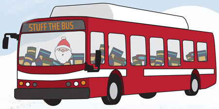 Stuff the Bus Holiday Food Drive