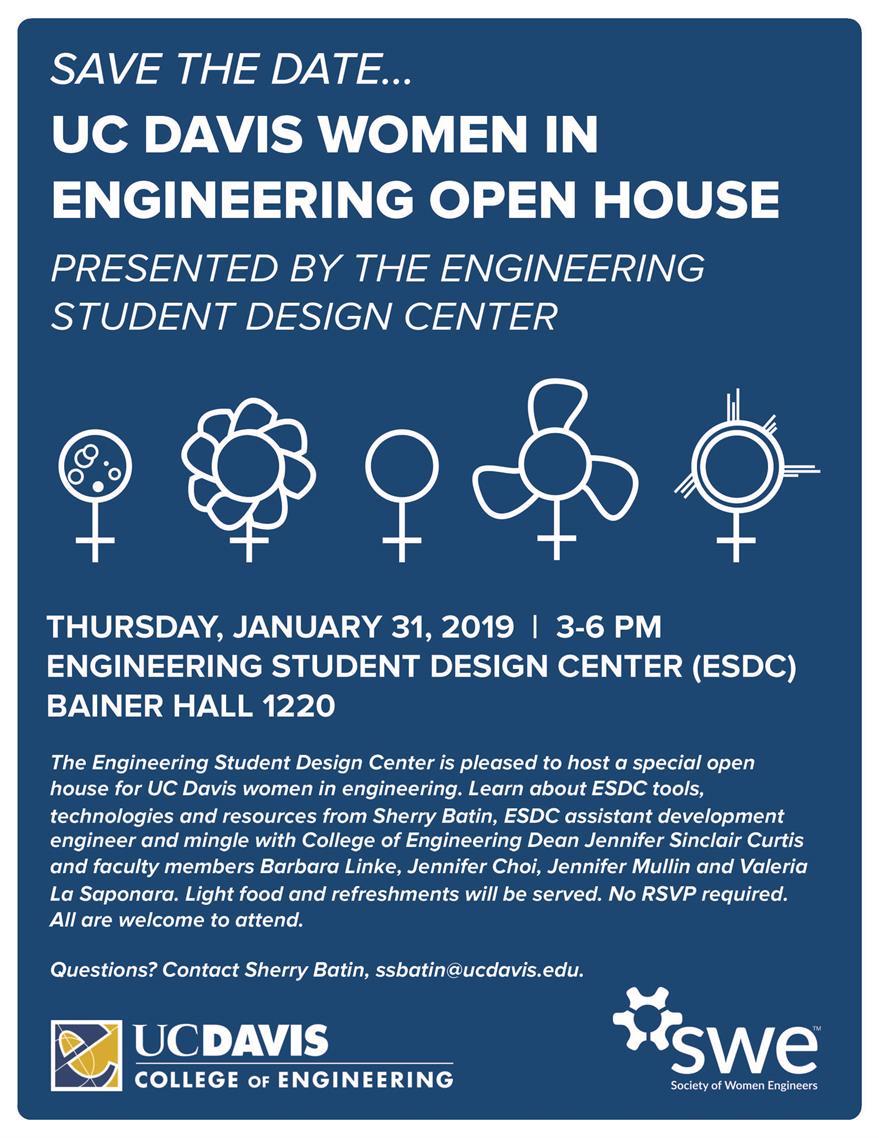 Engineering Student Design Center Open House: Women in Engineering