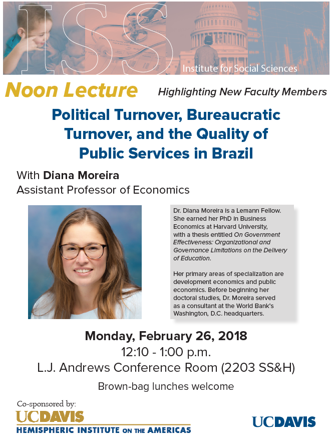 """Political Turnover, Bureaucratic Turnover and the Quality of Public Services in Brazil"""